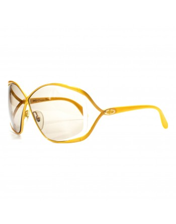 Yellow Arches Dior Sunglasses