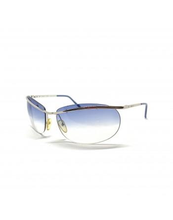 Silver Rimless Gucci Sunglasses