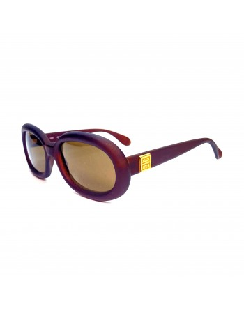 Matte Burgundy Givenchy Sunglasses
