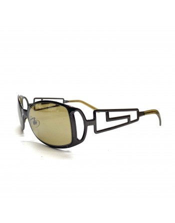 Gunmetal Buzzgame Versace Sunglasses
